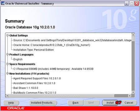 Installing Oracle 10g Personal Edition » Tony Pelaez's Blog